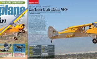 Carbon Cub 15cc ARF: June Issue