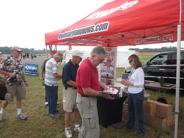 Model Airplane News Crew at US Air Meet