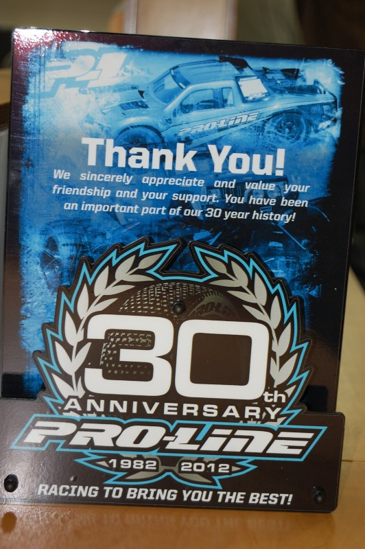 Air Age Media congratulates Pro-Line on 30th Anniversary