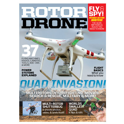 Air Age Media Launches RotorDrone Magazine and Companion Website RotorDroneMag.com