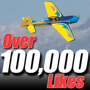 Model Airplane News' Facebook Page Hits 100,000 Likes!