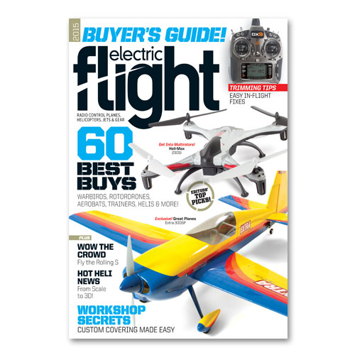 Electric Flight Buyer's Guide 2015