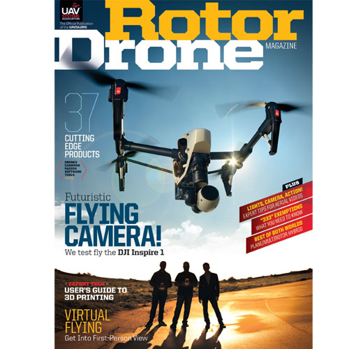 RotorDrone Magazine – The 2015 March/April Issue is Here!