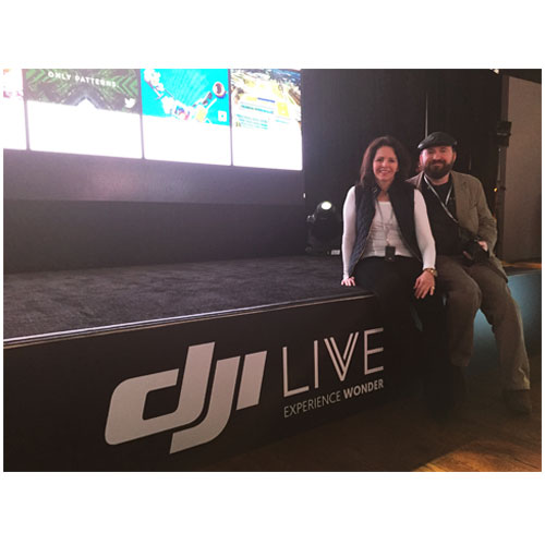 DJI Live Phantom 3 Unveiling in NYC- Rotor Drone Magazine Was There!