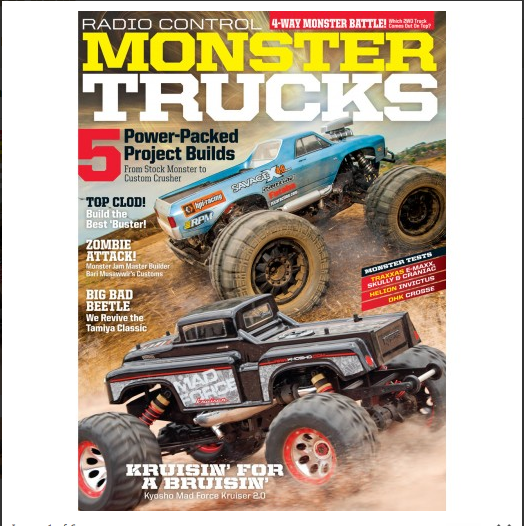 Monster Trucks Fall 2015 is About to Hit the Newstands!