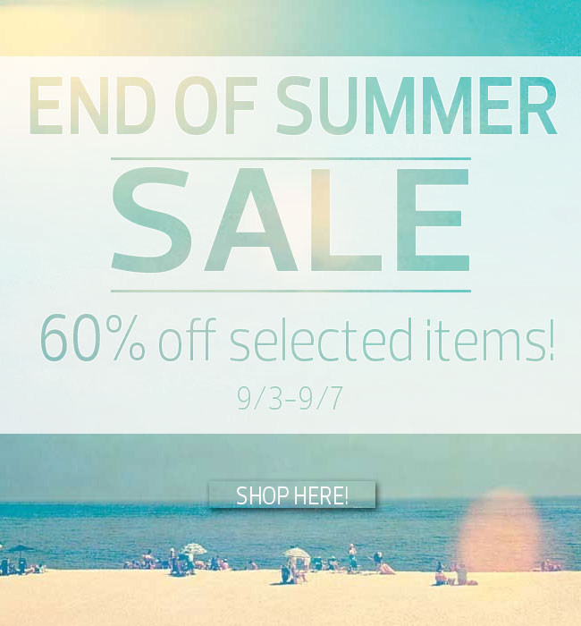 The Huge Air Age Store End of Summer Sale is Here!