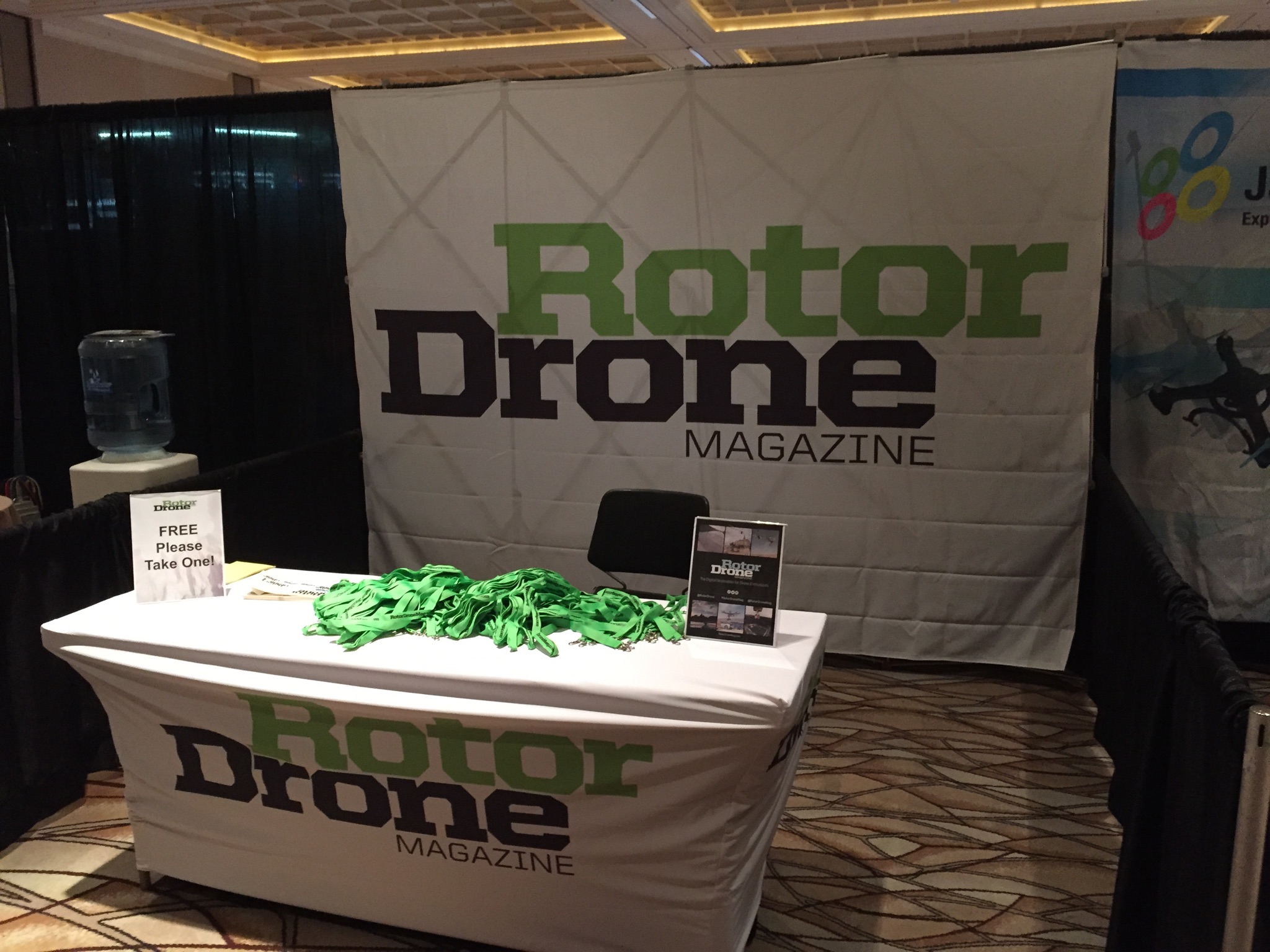 RotorDrone Magazine had a Successful Trip to Interdrone Las Vegas