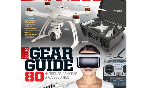 Get the RotorDrone Gear Guide off Newsstands While you Still Can!