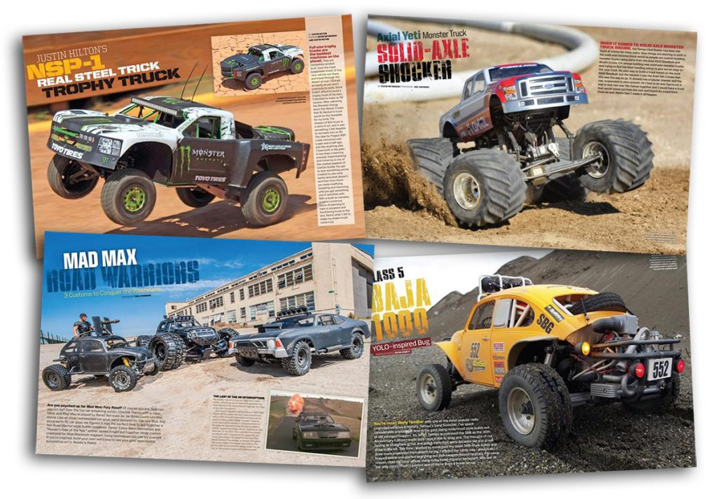 Here's just a sample of what you'll find inside. There are 14 cars and trucks in all, with over 60 pages and more than 130 photos of incredible custom creations.