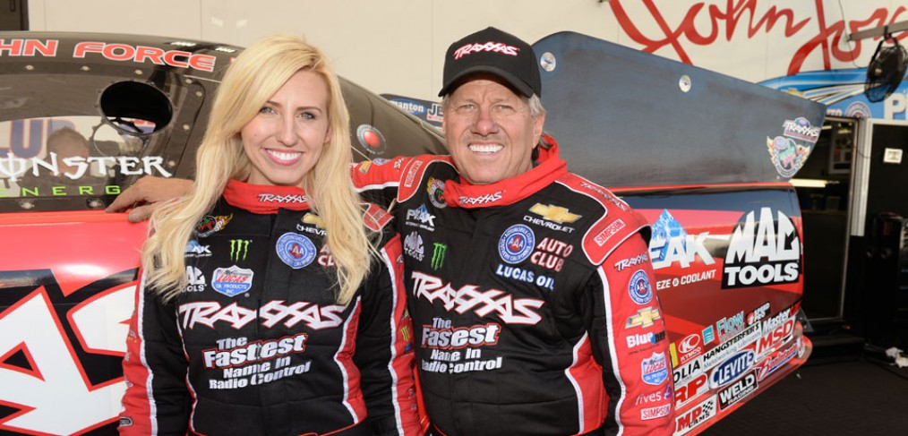 Courtney and John Force at RCX Make sure you get to RCX if you want to meet superstar Courtney Force and her legendary dad, John Force! They'll be at the Traxxas display for autographs on Saturday, March 12 from 10:30 – 11:30am. RCX is also your chance to get an up-close look at Courtney's 300mph Traxxas Camaro SS, it will be on display both days!