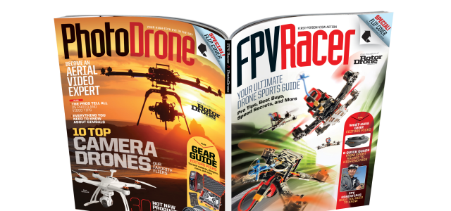FPVRacer/PhotoDrone Special Issue