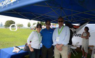 Yvonne DeFrancesco, Joe Ambrose, and Joe O'Connell enjoying the event!