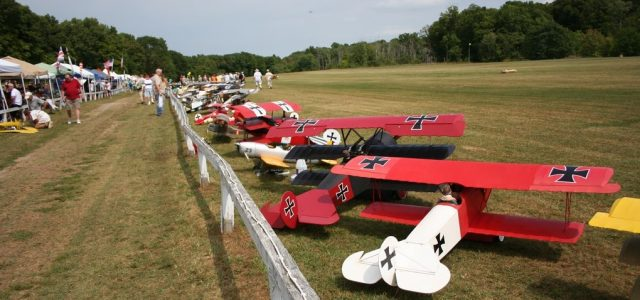 Model Airplane News Was at the Old Rhinebeck Aerodrome !