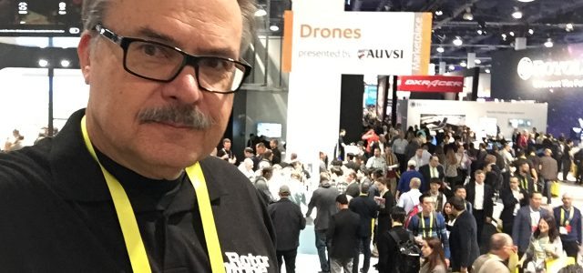 RotorDrone at CES 2017!